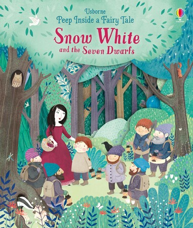 Фото Peep inside a fairy tale: Snow White and the Seven Dwarfs.