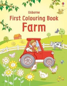 Farm - First colouring book