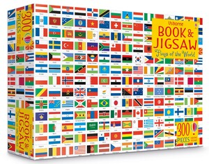 Flags of the world picture book and jigsaw (9781474948050)