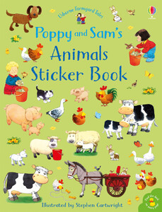 Poppy and Sams animals sticker book