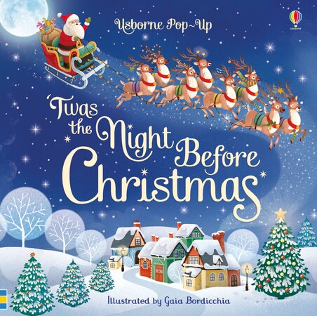 Фото Pop-up 'Twas the Night Before Christmas (9781474952866).