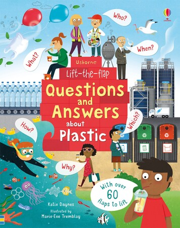 Фото Lift-the-Flap Questions and Answers About Plastic.