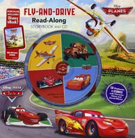 Cars/Planes: Fly-And-Drive Read-Along