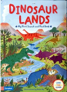 Dinosaur Lands My First Search and Find Book - Look, Find, Learn