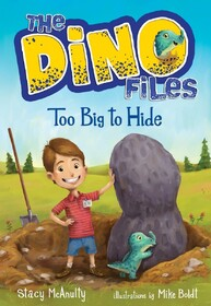 The Dino Files Book2: Too Big to Hide
