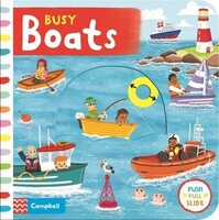 Busy Boats - Busy Books