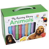 My Learning Library: Animals - 8 books