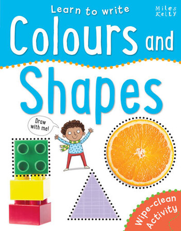 Фото Learn to Write Colours and Shapes.
