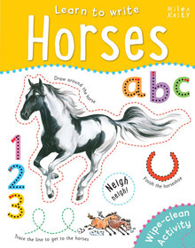 Learn to Write Horses