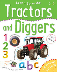 Learn to Write Tractors and Diggers