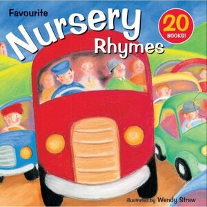 Nursery Rhymes 20 Picture Books Collection Pack Set Illustrated by Wendy Straw