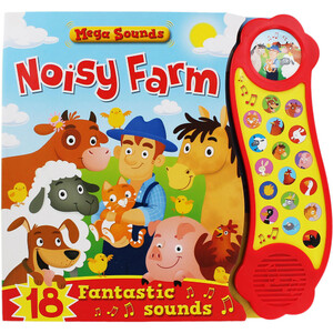 Noisy Farm - Sound Book