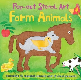 Pop-Out Stencil Art: Farm Animals