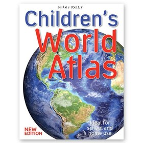 Children's World Atlas - by Miles Kelly