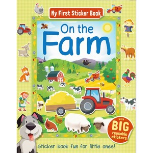 My First Sticker Books: On the farm