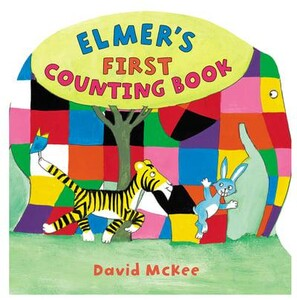 Elmers First Counting Book - Elmer Picture Books