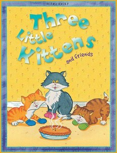 Nursery Library Three Little Kittens and friends