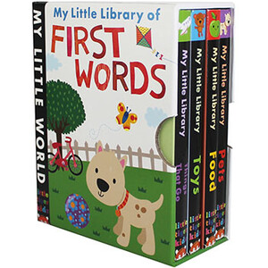 My Little Library of First Words - 4 книги в комплекте