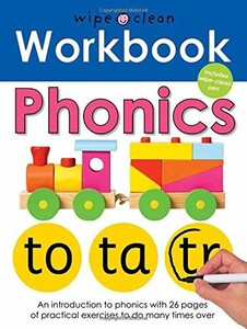 Wipe-Clean Workbook: Phonics