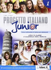Progetto Italiano Junior 1 Libro & Quaderno + CD audio (9789606930324)