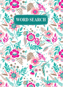 Wordsearch Puzzle Book (Floral cover)
