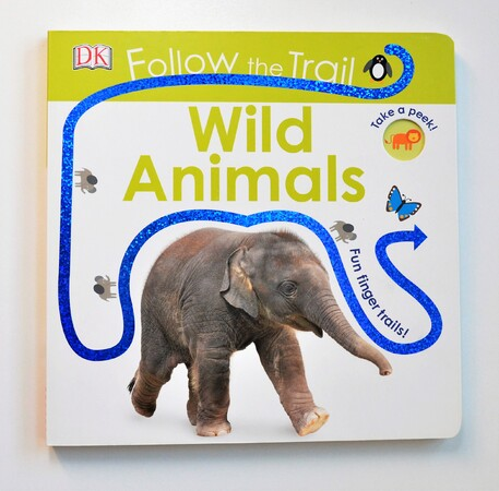 Follow the Trail Wild Animals