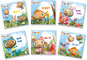 WAYBULOO POCKET LIBRARY 6 BOARD BOOKS COLLECTION