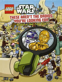These Aren't the Droids You're Looking for - a Search-and-Find Book