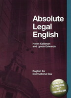 DBE: Absolute Legal English Book: English for International Law (+CD)