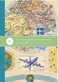 Bon Voyage Eco Writer's Notebook