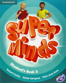 Super Minds Level 3. Student's Book (+DVD)