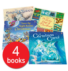 Usborne Christmas Picture Book Collection - 4 Books