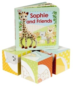 Sophie La Girafe: Book & Blocks