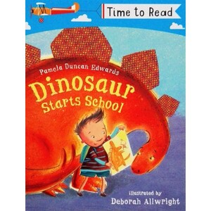 Dinosaur Starts School - Time to read