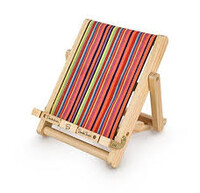 Deckchair Bookchair Deluxe Medium Stripy подставка для книг(16x21x2.5cm)