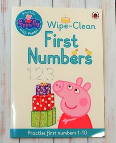 Peppa Pig - Wipe-clean First Numbers