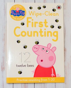 Peppa Pig - Wipe-clean First Counting