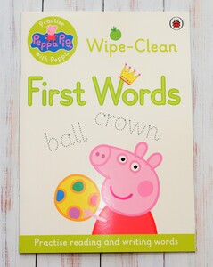 Peppa Pig - Wipe-clean First Words
