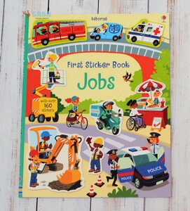 First stickers book Jobs