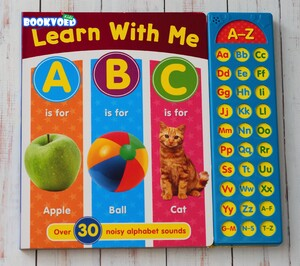 Learn With Me ABC - Sound book