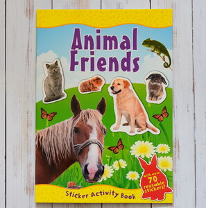 Animal Friends - Sticker book