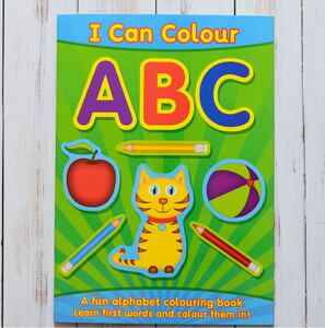 I can colour ABC
