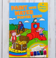 Paint with water - Poster book