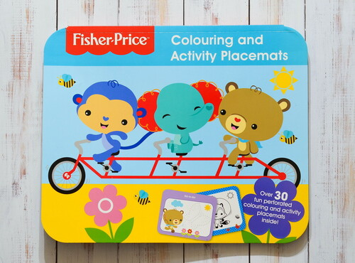 Фото Colouring and Activity Placemats - Fisher Price.