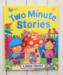 Two Minute Stories - Large Print