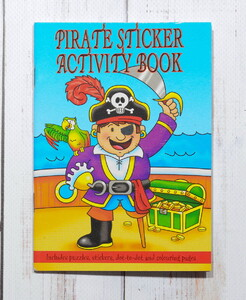 Pirate Sticker Activity Book