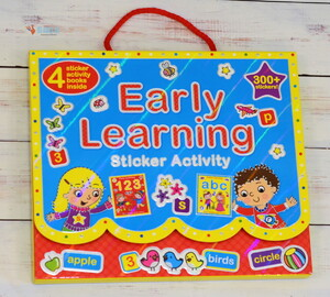 Early Learning Sticker Activity Set - 4 книги в наборе