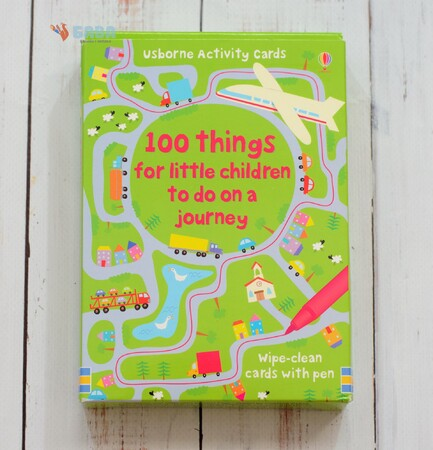 Фото 100 things for little children to do on a journey.