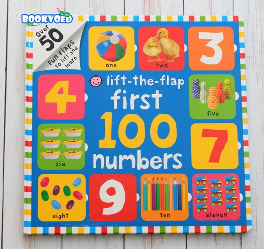 First 100 Numbers Lift-the-Flap