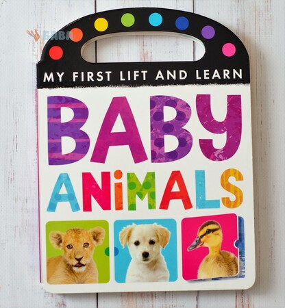 Фото My First Lift and Learn: Baby Animals.